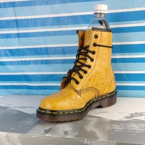RARE,ONLY PAIR IN CANADA💥Dr.Martens 1460 💯%CROCODILE LEATHER Boot 6 UNICORN